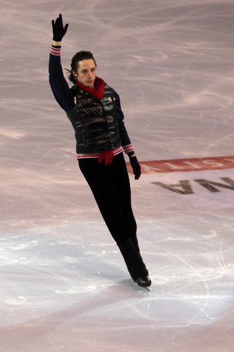 figure ice skating. Johnny Weir figure skating