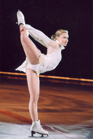Oksana Baiul, Figure Skater