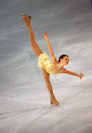 figure ice skating. Sasha Cohen figure skating